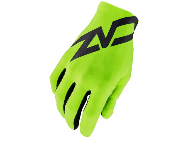Supacaz SupaG Twisted Long Finger Gloves black/neon yellow